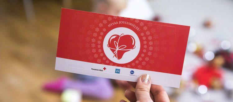 Tack vare Jul i sinnet -insamlingen kunde vi dela ut matpresentkort till 30 000 familjer